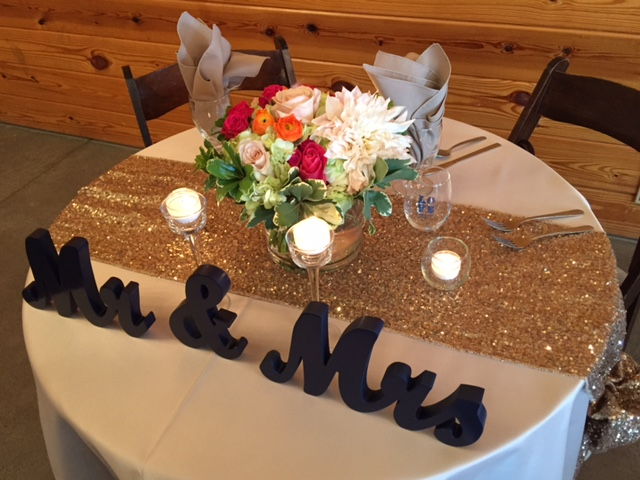 Venue: Carriage House, Florist: Melissa Timm Designs, Rentals: Campbell